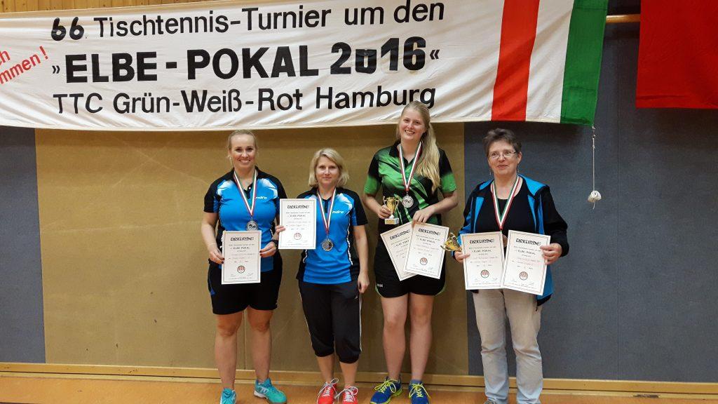 Siegerinnen im Damen-Einzel